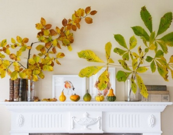 Easy Ways Using Autumn Leaves _46
