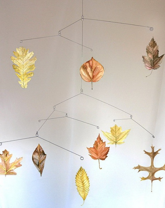 Easy Ways Using Autumn Leaves _47