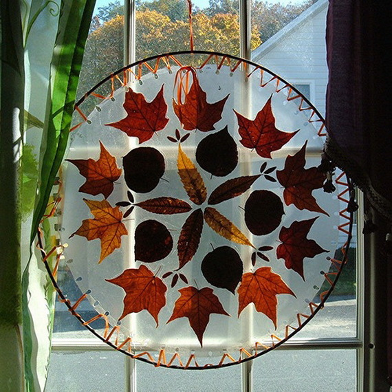Easy Ways Using Autumn Leaves _52