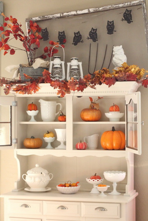 Easy Ways Using Autumn Leaves _53