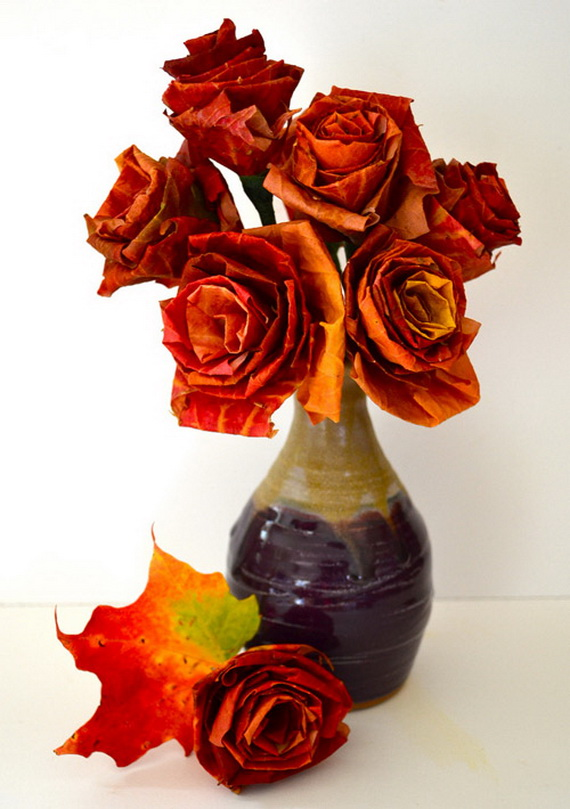 Fall Decor Crafts-Easy Fall Leaf Art Projects | family ...