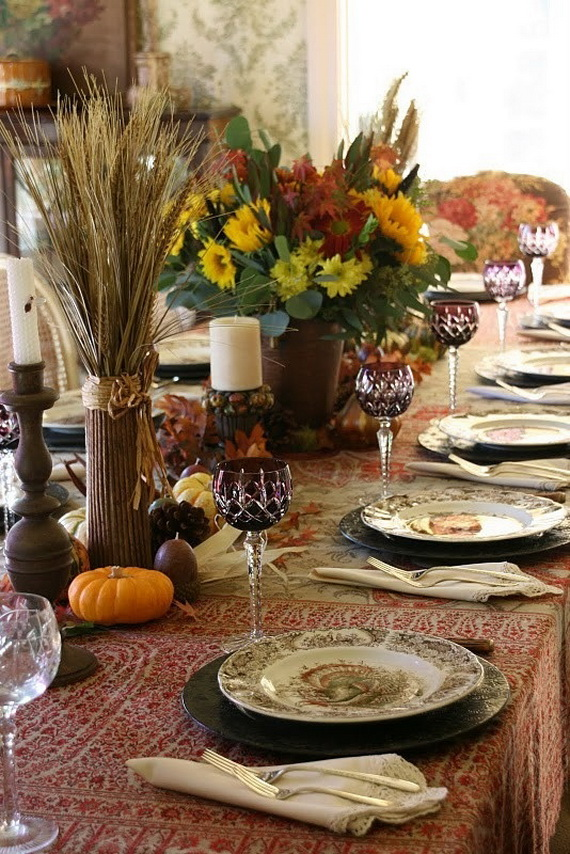 Fall Dining Room Ideas  (12)