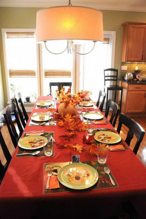 Fall Dining Room Ideas  (13)