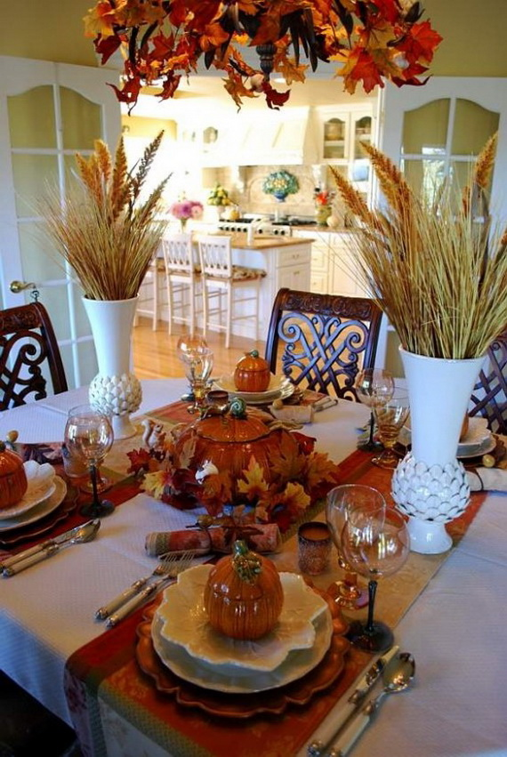 Fall Dining Room Ideas  (18)