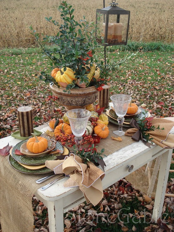 Fall Dining Room Ideas  (6)