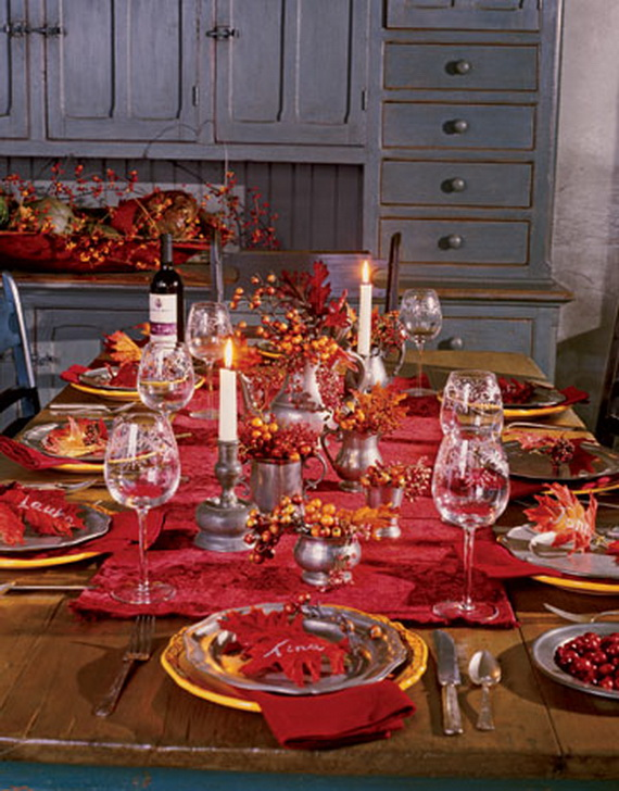 Fall Dining Room Ideas  (61)
