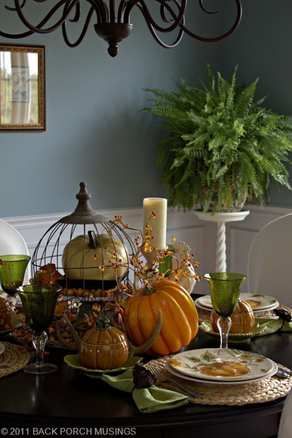 65 Fall Dining Room Ideas Creating Beautiful And Cozy ...