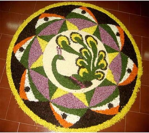 Indian Floral Design For Onam Festival (15)