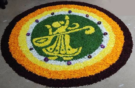 Indian Floral Design For Onam Festival (25)