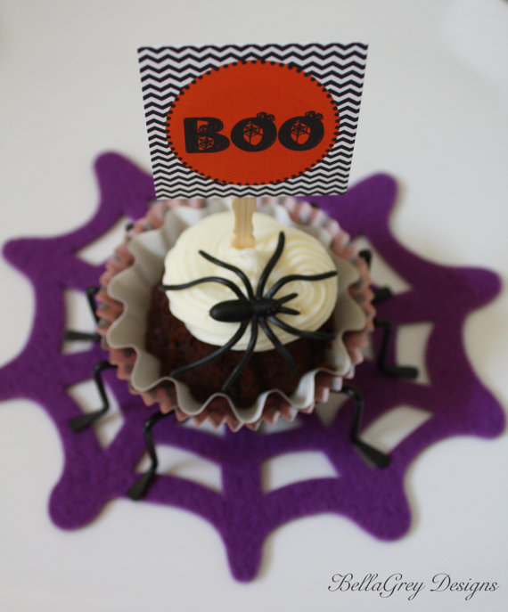 Spooky Halloween cupcake Ideas_59