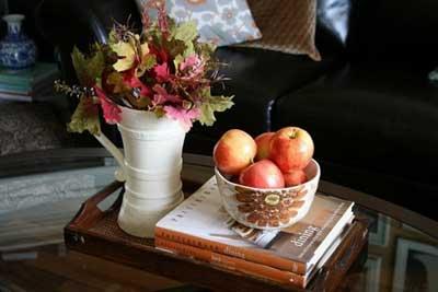 40 Inspirational Fall Coffee Table Decor Ideas