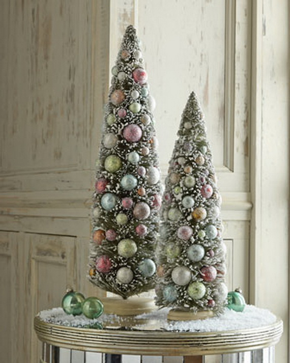 2013Tabletop Christmas Trees for the Holiday Season_13
