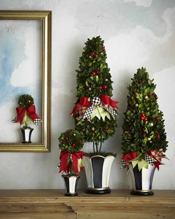 2013Tabletop Christmas Trees for the Holiday Season_15