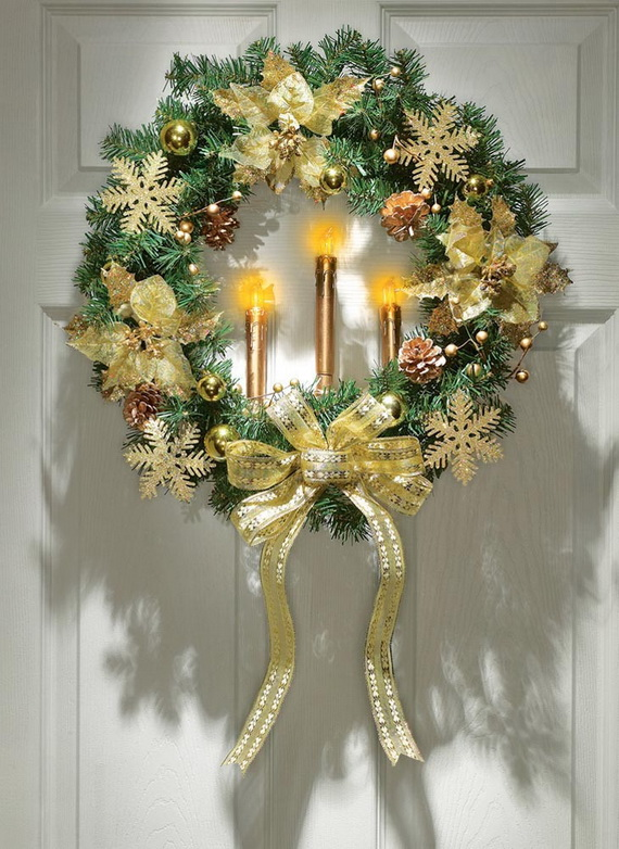 50 Great Christmas Wreath Ideas To Keep The Traditions Alive_01