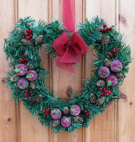 50 Great Christmas Wreath Ideas To Keep The Traditions Alive_07