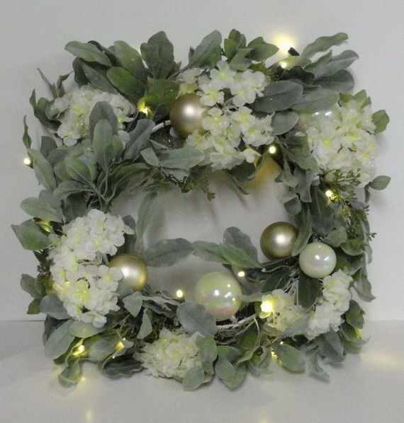 50 Great Christmas Wreath Ideas To Keep The Traditions Alive_08