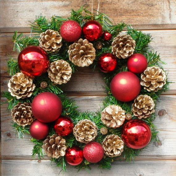 50 Great Christmas Wreath Ideas To Keep The Traditions Alive_12