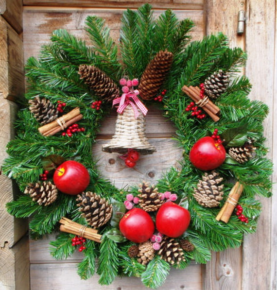 50 Great Christmas Wreath Ideas To Keep The Traditions Alive_18