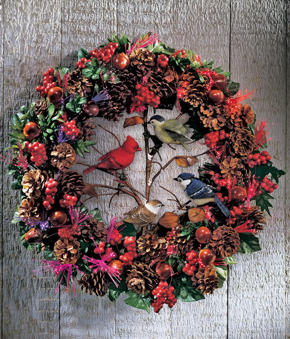 50 Great Christmas Wreath Ideas To Keep The Traditions Alive_19