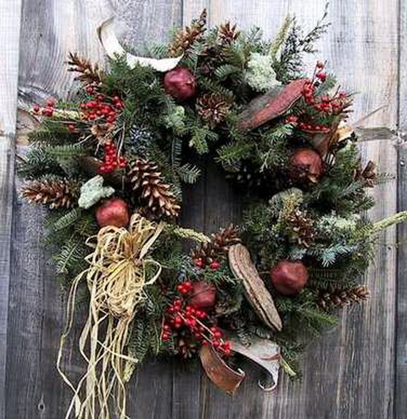 50 Great Christmas Wreath Ideas To Keep The Traditions Alive_23