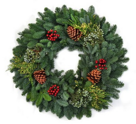 50 Great Christmas Wreath Ideas To Keep The Traditions Alive_35