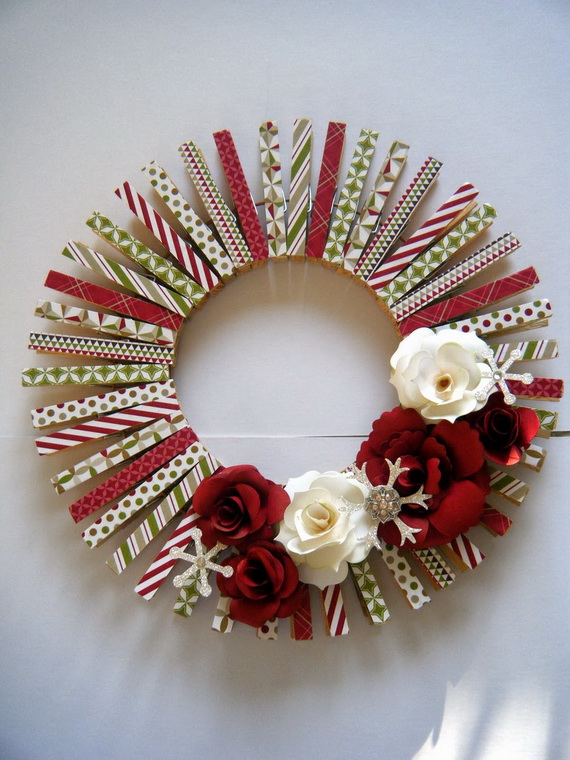 50 Great Christmas Wreath Ideas To Keep The Traditions Alive_36