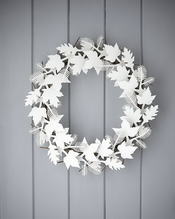 50 Great Christmas Wreath Ideas To Keep The Traditions Alive_42
