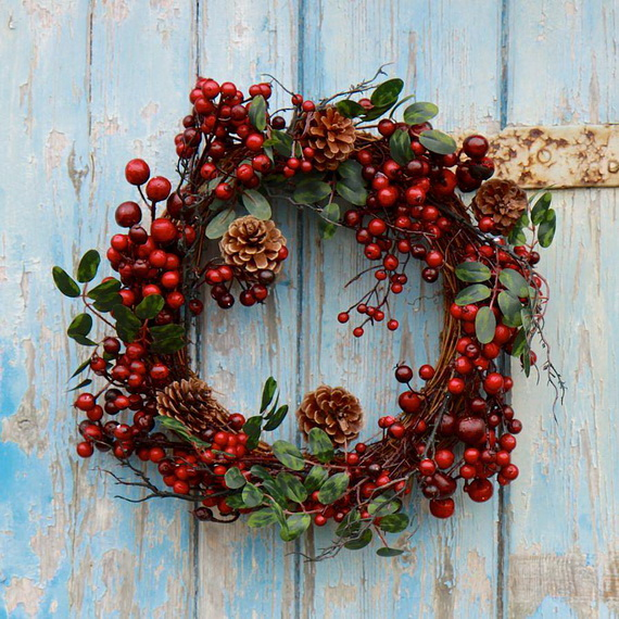 50 Great Christmas Wreath Ideas To Keep The Traditions Alive_48