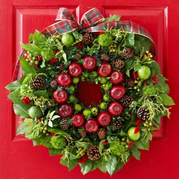 50 Great Christmas Wreath Ideas To Keep The Traditions Alive_51