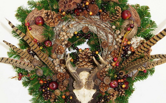50 Great Christmas Wreath Ideas To Keep The Traditions Alive_56