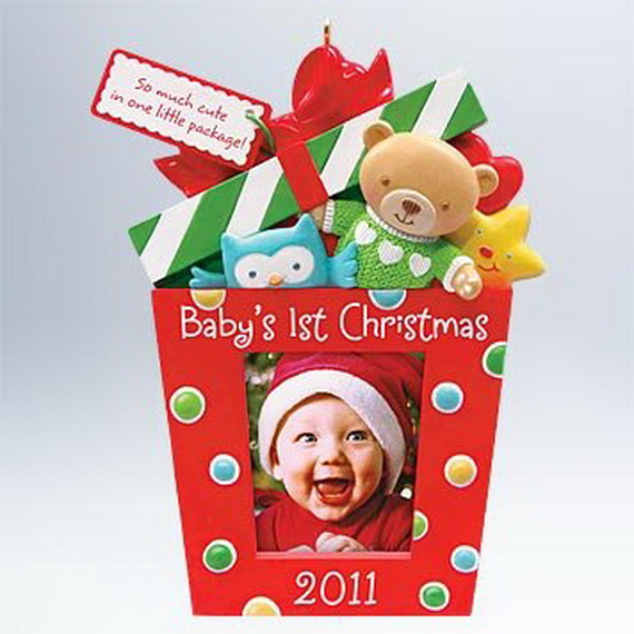 Baby's First Christmas Ornament Ideas     _12