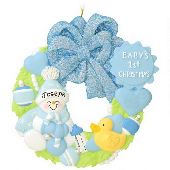 Baby's First Christmas Ornament Ideas     _19