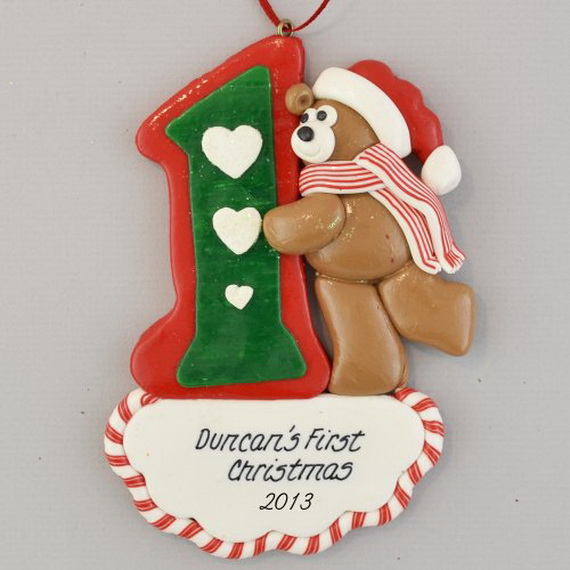 Baby's First Christmas Ornament Ideas     _20