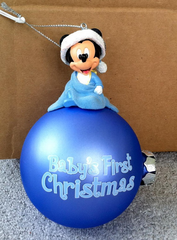 Baby's First Christmas Ornament Ideas     _25