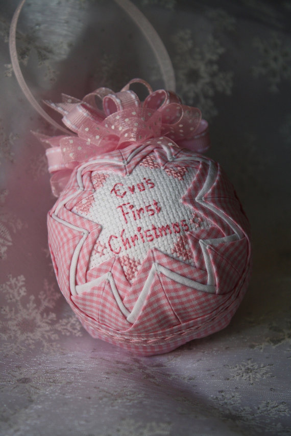 Baby's First Christmas Ornament Ideas     _36