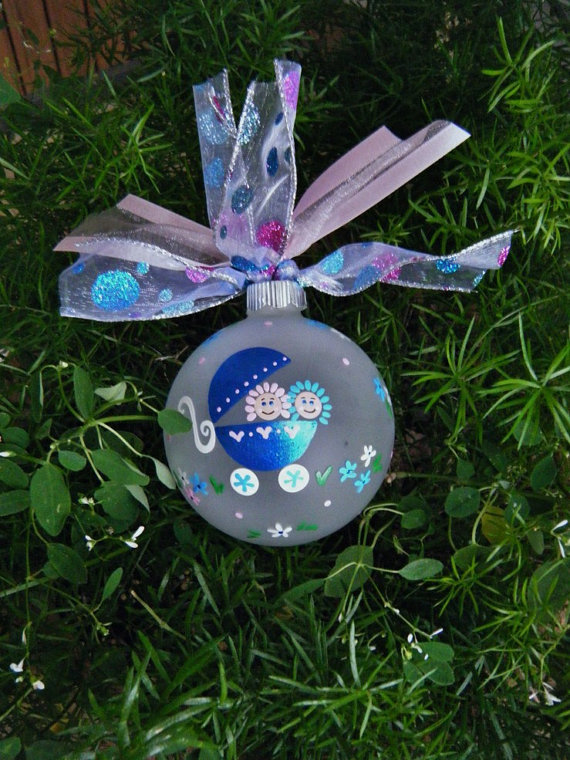 Baby's First Christmas Ornament Ideas     _43