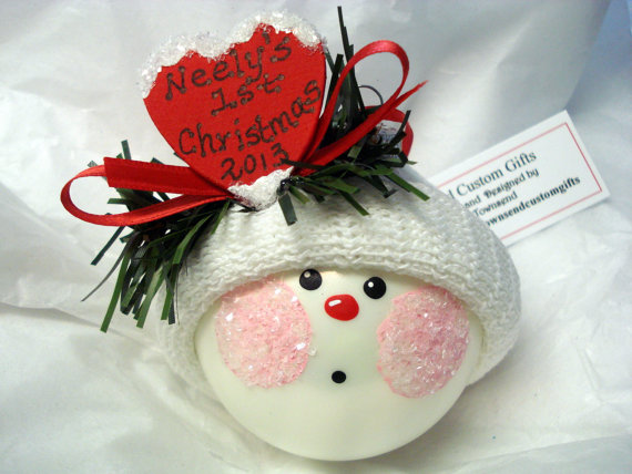 Baby's First Christmas Ornament Ideas     _65