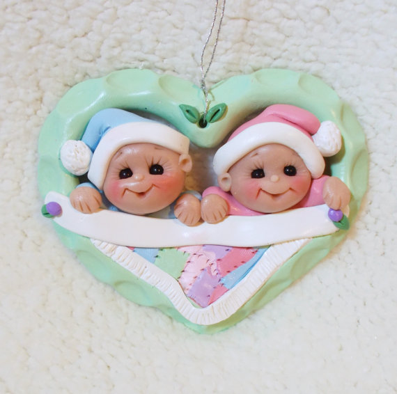 Baby's First Christmas Ornament Ideas     _68