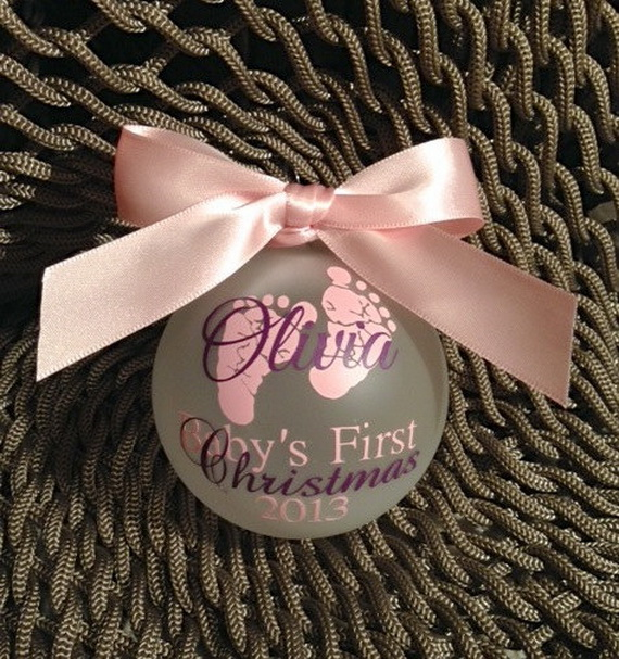 Baby's First Christmas Ornament Ideas     _69