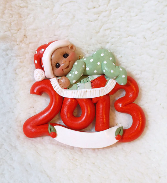 Baby's First Christmas Ornament Ideas     _71
