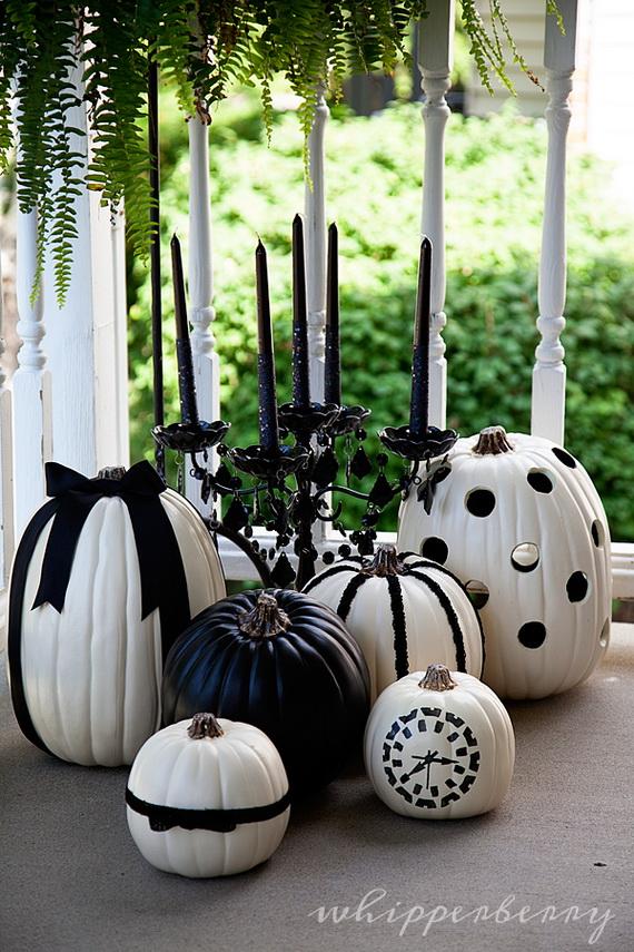 Elegant White Halloween Ideas