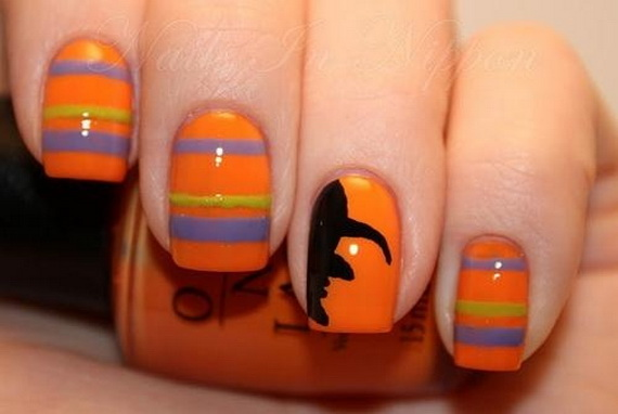 Gorgeous Ghastly Halloween Nail Art Designs (22)