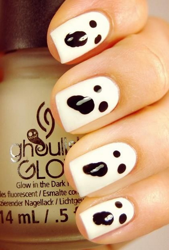 Gorgeous Ghastly Halloween Nail Art Designs (24)