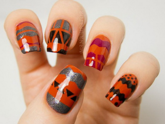 Gorgeous Ghastly Halloween Nail Art Designs (45)