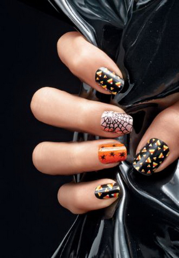 Gorgeous Ghastly Halloween Nail Art Designs (47)