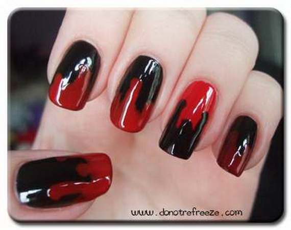 Gorgeous Ghastly Halloween Nail Art Designs (6)