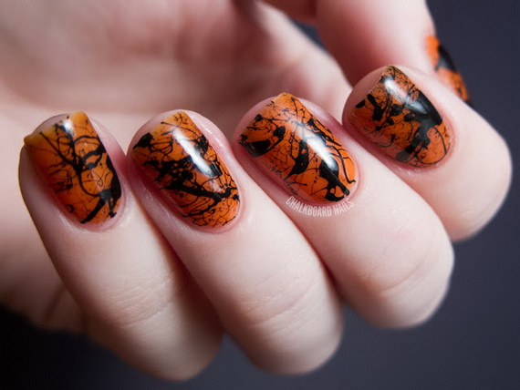 Gorgeous Ghastly Halloween Nail Art Designs (9)