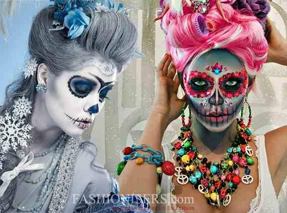 Halloween-Best-Calaveras-Makeup-Sugar-Skull-Ideas-for-Women (21)