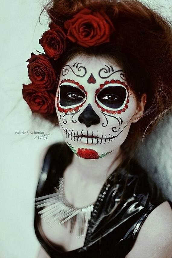Halloween-Best-Calaveras-Makeup-Sugar-Skull-Ideas-for-Women (26)