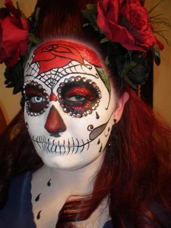 Halloween-Best-Calaveras-Makeup-Sugar-Skull-Ideas-for-Women (32)